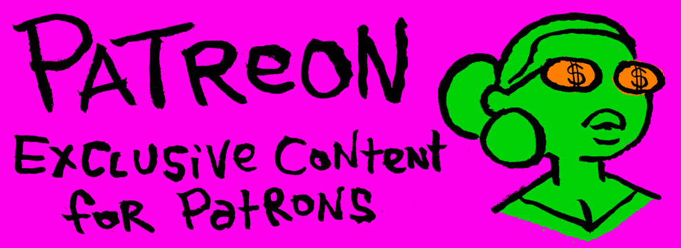 PATREON: MEETING COMICS SUBSCRIPTIONS & EXCLUSIVES